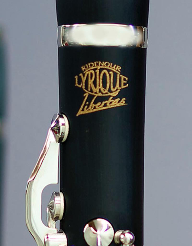 Ridenour Ridenour Libertas Bb Clarinet Hard Rubber