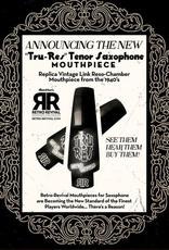 Retro Revival Retro Revival Tru-Res Tenor Saxophone Mouthpiece, 1940s Otto Link Reso Chamber Replica