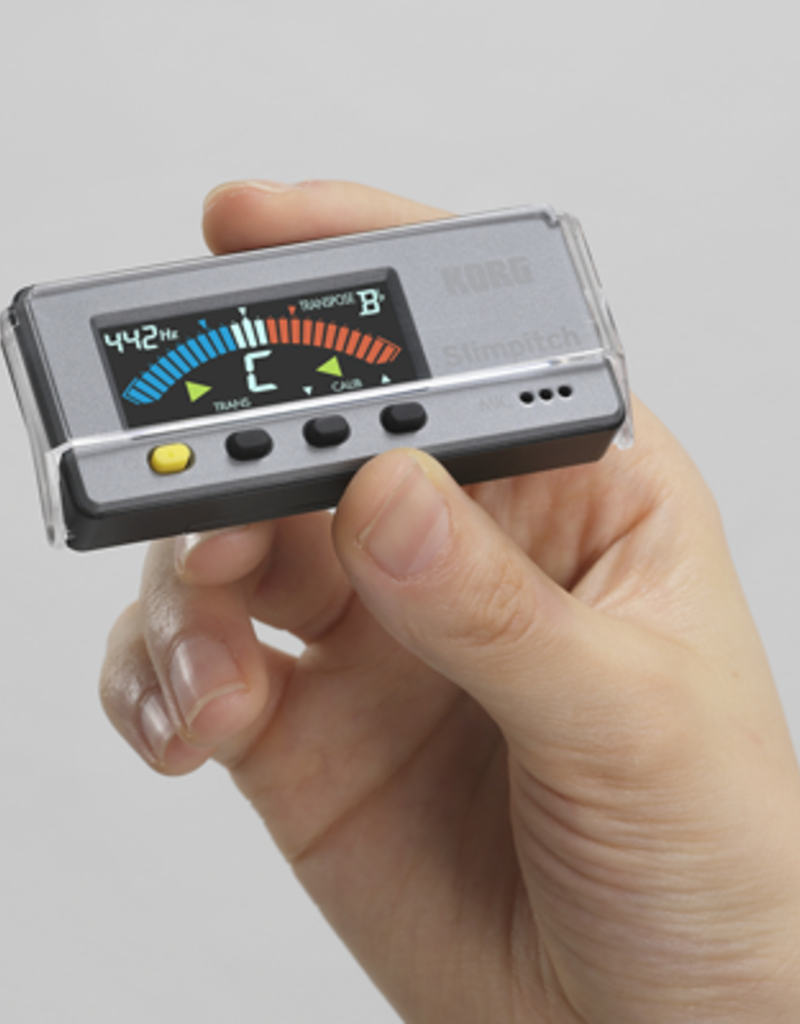 Korg Korg Slimpitch Chromatic Tuner, with Contact Microphone