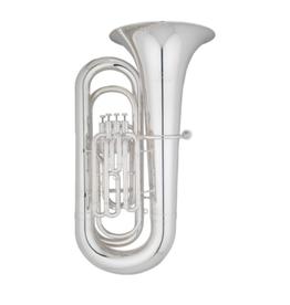 Eastman Eastman BBb 4/4 4 valve silver plate tuba. EBB431S