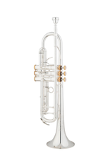 Eastman Eastman ETR520GS Bb Trumpet, M/L Bore, Silver Plated