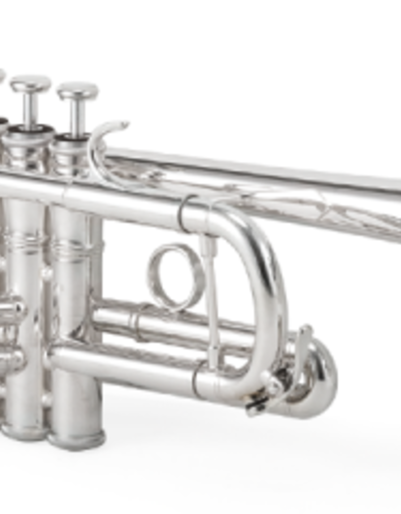 XO XO 1624 Large Bore C Trumpet Silver Plated