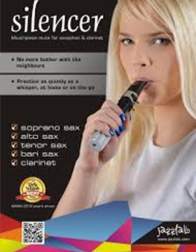 Jazz Lab Sax Silencer universal - Fits Sop - Baritone & Clarinet. Embouchure training tool.