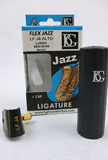 BG BG Ligature & Cap Alto Metal MP, Beechler Bellite, Flex Jazz LFJ4