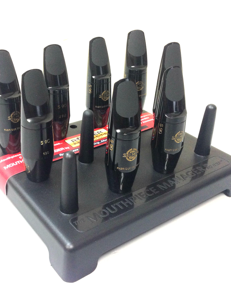 Rovner Rovner Mouthpiece Manager for Saxophones & Clarinets. Holds 12 Mouthpieces.