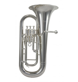 Schagerl Schagerl 800S 3 Valve Euphonium, Medium Bore, SIlver Plated, ABS Case