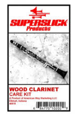 Superslick Wooden Clarinet Care Kit