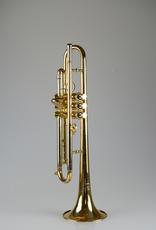 Kuhnl & Hoyer K'hnl & Hoyer Universal II Malte Burba Bb Trumpet, Gold Brass Bell - Gold Laquer