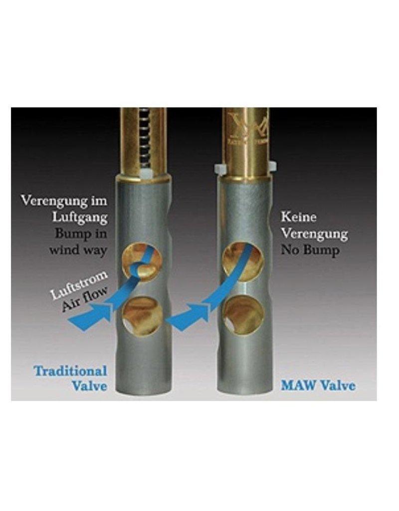 Meinlschmidt MAW valves system - set of 3 for Bach trumpets. 16.88mm