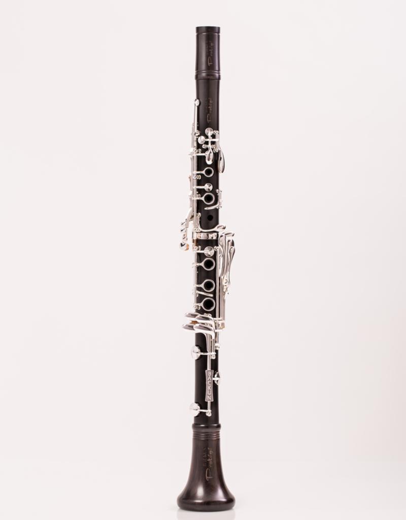 Backun Backun Protege Bb Clarinet Grenadilla w/ Silver Keys & Eb Lever