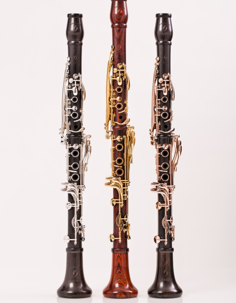 Backun Backun MOBA Bb Clarinet Grenadilla w/ Rose Gold Keys & Posts