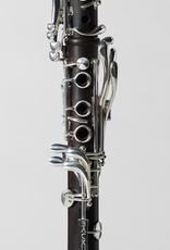 Backun Backun Bb Clarinet. Aged Grenadilla. Silver plated keywork. Two fatboy barrels.