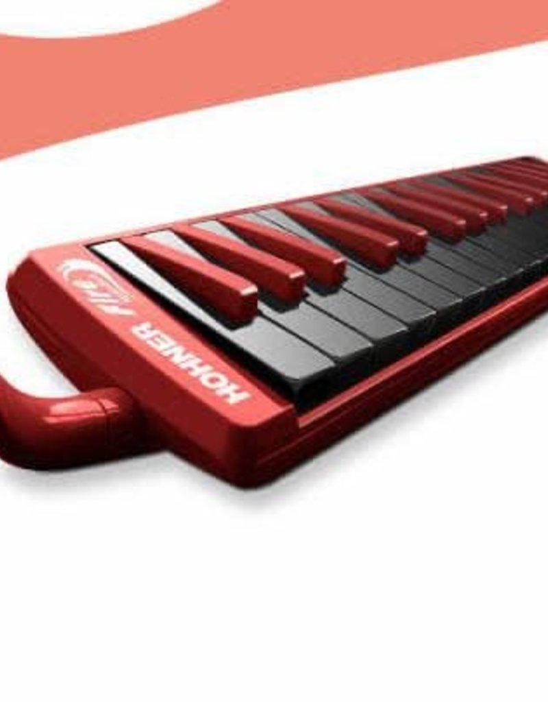 Hohner Hohner Fire 32 Note Melodica Red w/ Black Keys