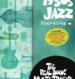 Real Book 1950s Jazz Playalong V12 bk/OLM