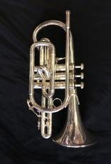 Bach Consignment Bach Stradivarius 184S Bb Cornet Silver Plate