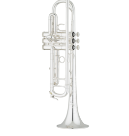 S.E. Shires Shires Q Series Professional Bb Trumpet Silver Plated