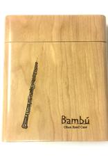Bambu Bambu Wooden Reed Bambu Wooden Reed Case for Oboe, Plain Finish for Oboe, plain finish.