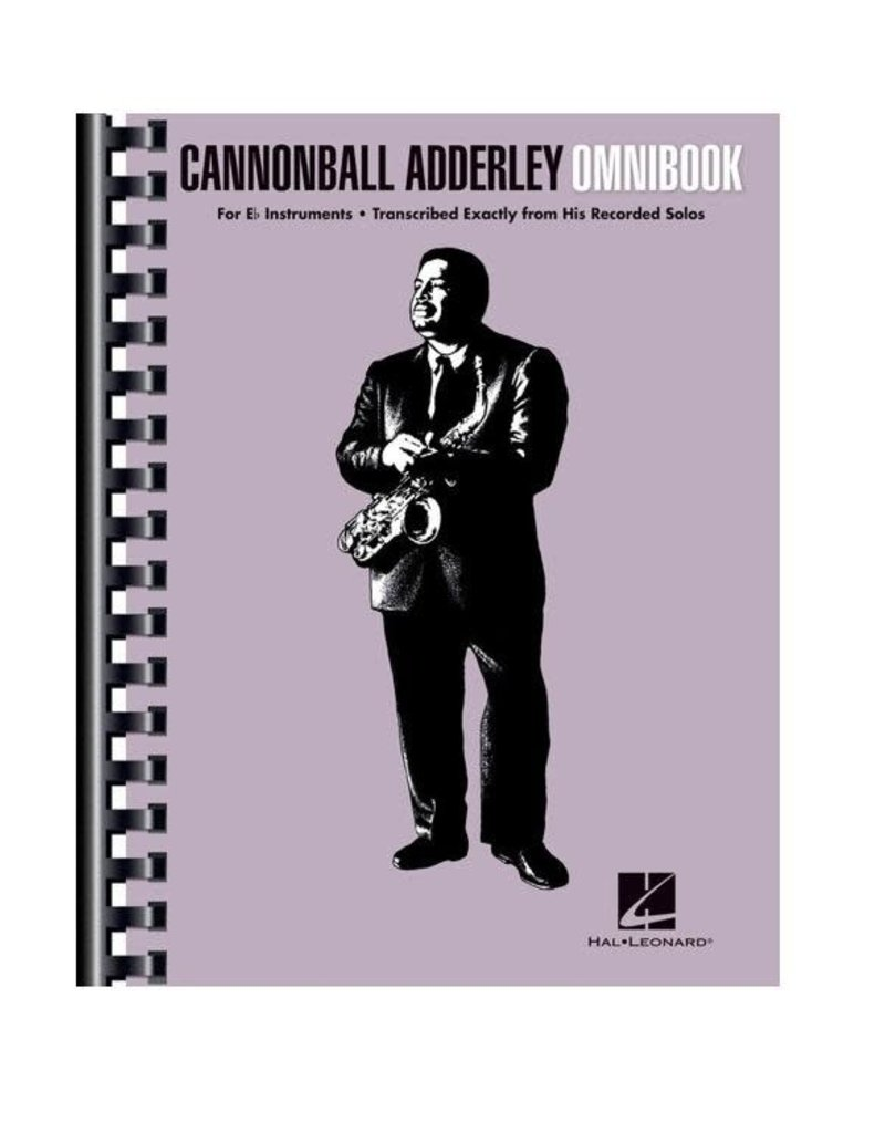 Hal Leonard Cannonball Adderley Omnibook