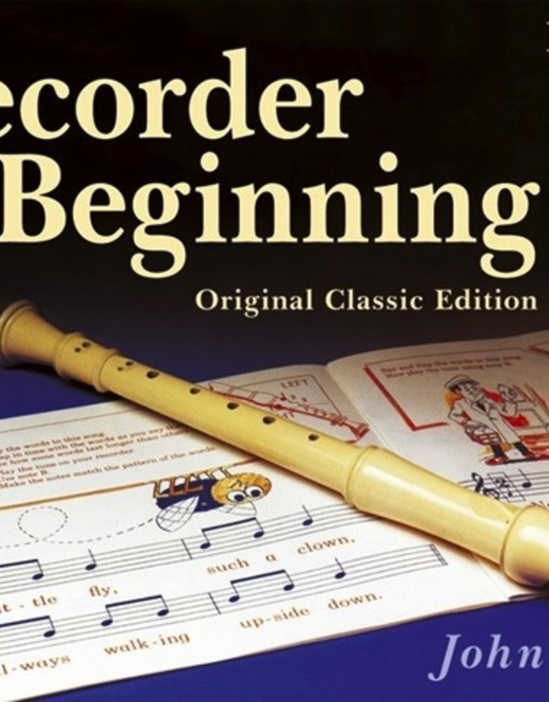 Recorder From The Beginning Book 1 By John Pitts