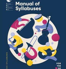 (blank) AMEB Manual of Syllabuses (2020)