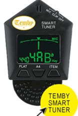 Temby Australia Temby Transposing Smart Tuner With Mic And Vibration Clip On Function