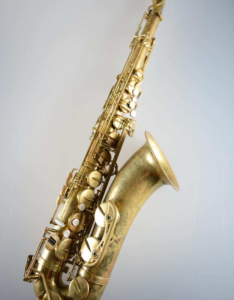 Temby Australia Temby Vintage Raw Brass Tenor Saxophone