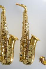 Temby Australia Temby Vintage Raw Brass Alto Saxophone