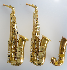 Temby Australia Temby Vintage Alto Saxophone Raw Brass
