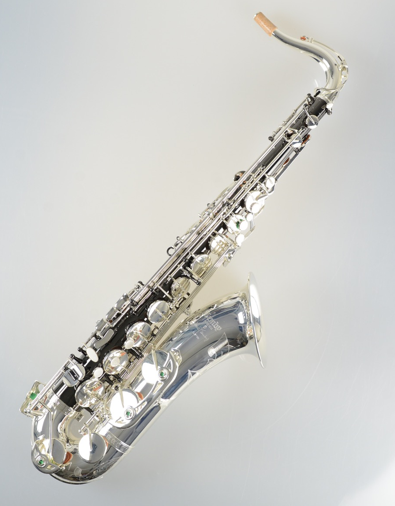 Temby Australia Temby Custom Tenor Saxophone Black Nickel & Silver Plate
