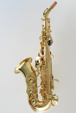 Temby Australia Temby Curved Soprano Saxophone Gold Lacquer