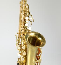 Temby Australia Temby Vintage Raw Brass Curved Soprano Saxophone