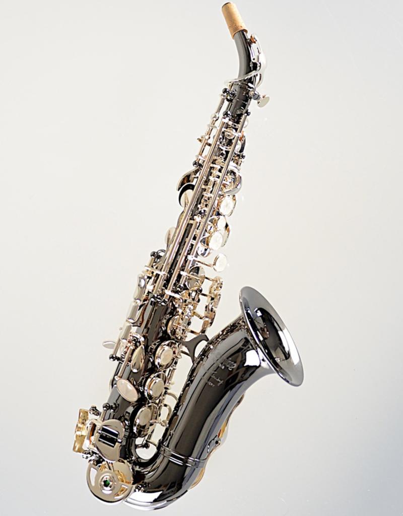 Temby Australia Temby Discovery Curved Soprano Saxophone Black Nickel