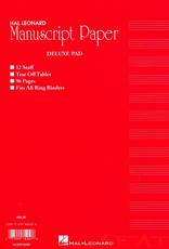 Hal Leonard Hal Leonard Manuscript Paper - Delux Pad