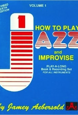 Jamey Aebersold, How To Play Jazz And Improvise, Volume 1, All Instruments