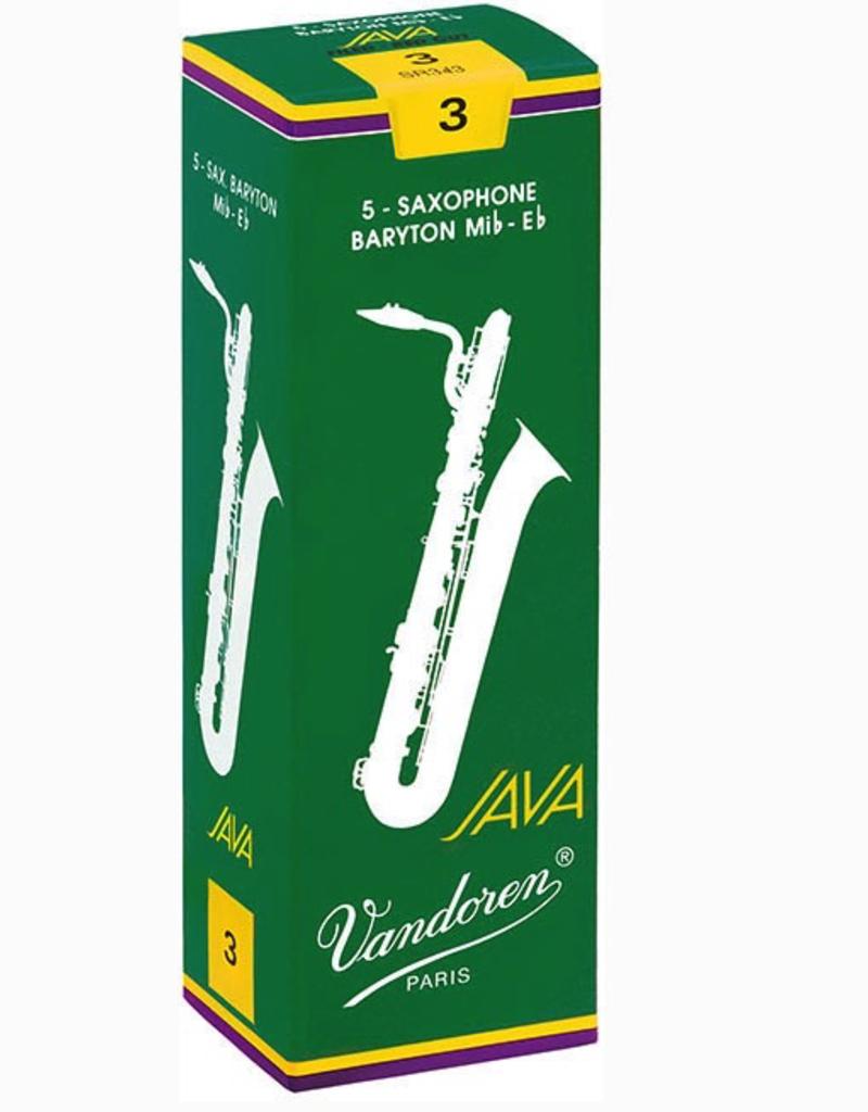 Vandoren Vandoren Java Green Baritone Saxophone Reeds