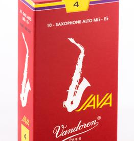 Vandoren Vandoren Java Red Alto Sax Box of 10 Reeds