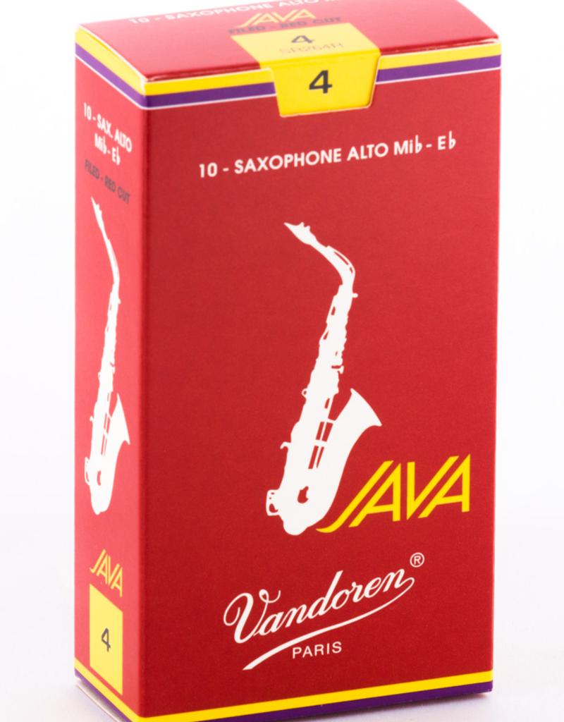 Vandoren Vandoren Java Red Alto Saxophone Reeds