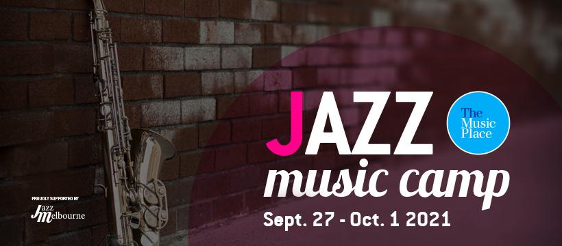 Jazz Camp banner