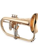 XO XO JT1646RL Flugelhorn w/ Rose Brass Bell