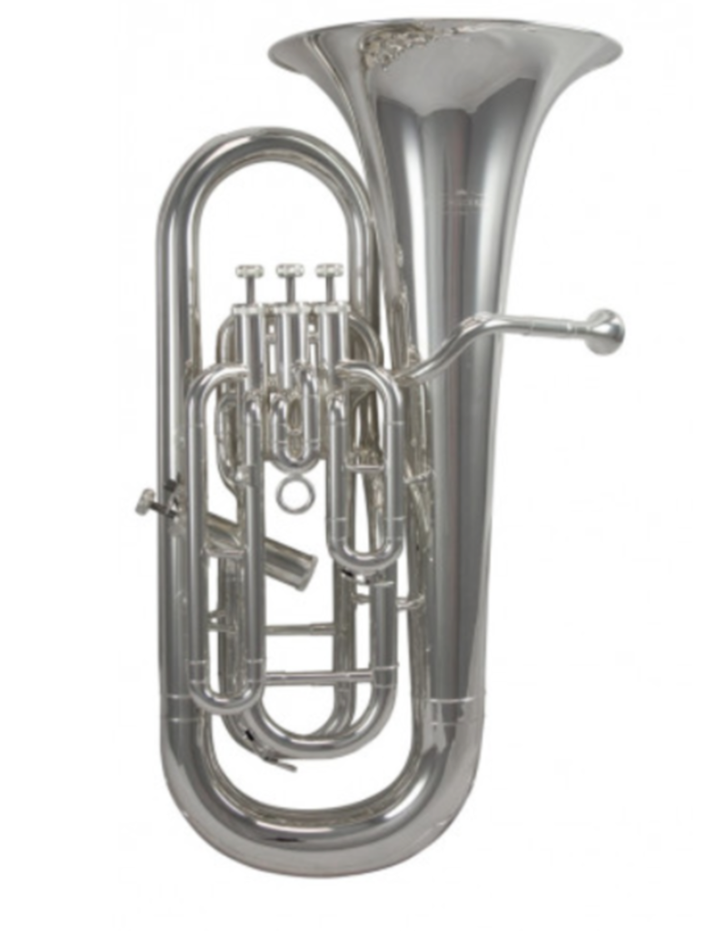 Schagerl Schagerl 900S, 3+1 Valve Euphonium, SIlver Plate, Large Bore, ABS Case