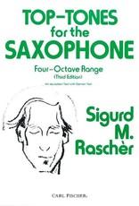 Carl Fischer Top Tones For Saxophone