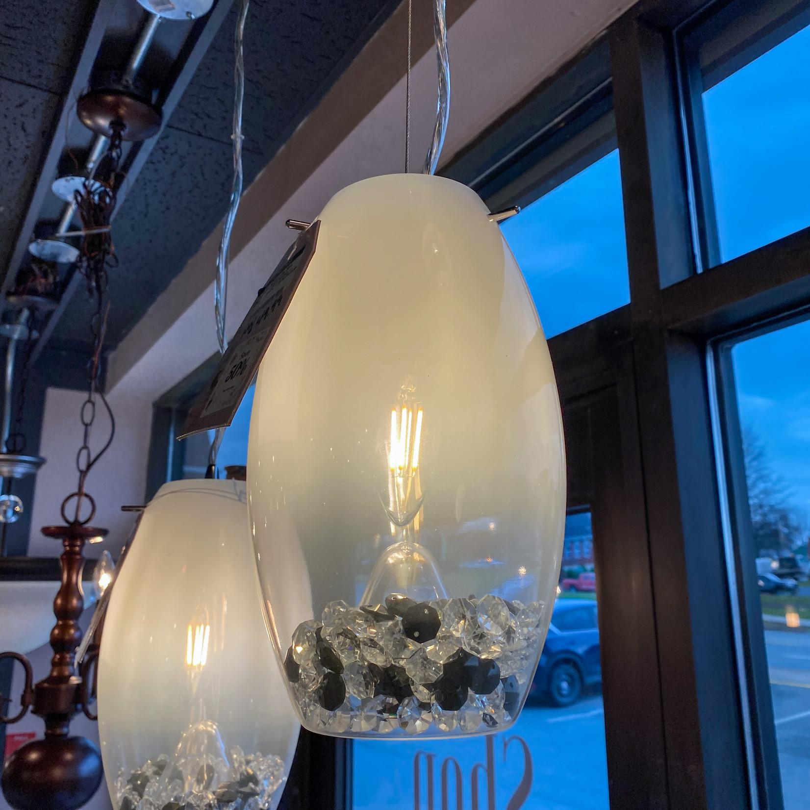Hampton Bay Hampton Bay Reva 1-Light Pendant - Chrome - FINAL SALE