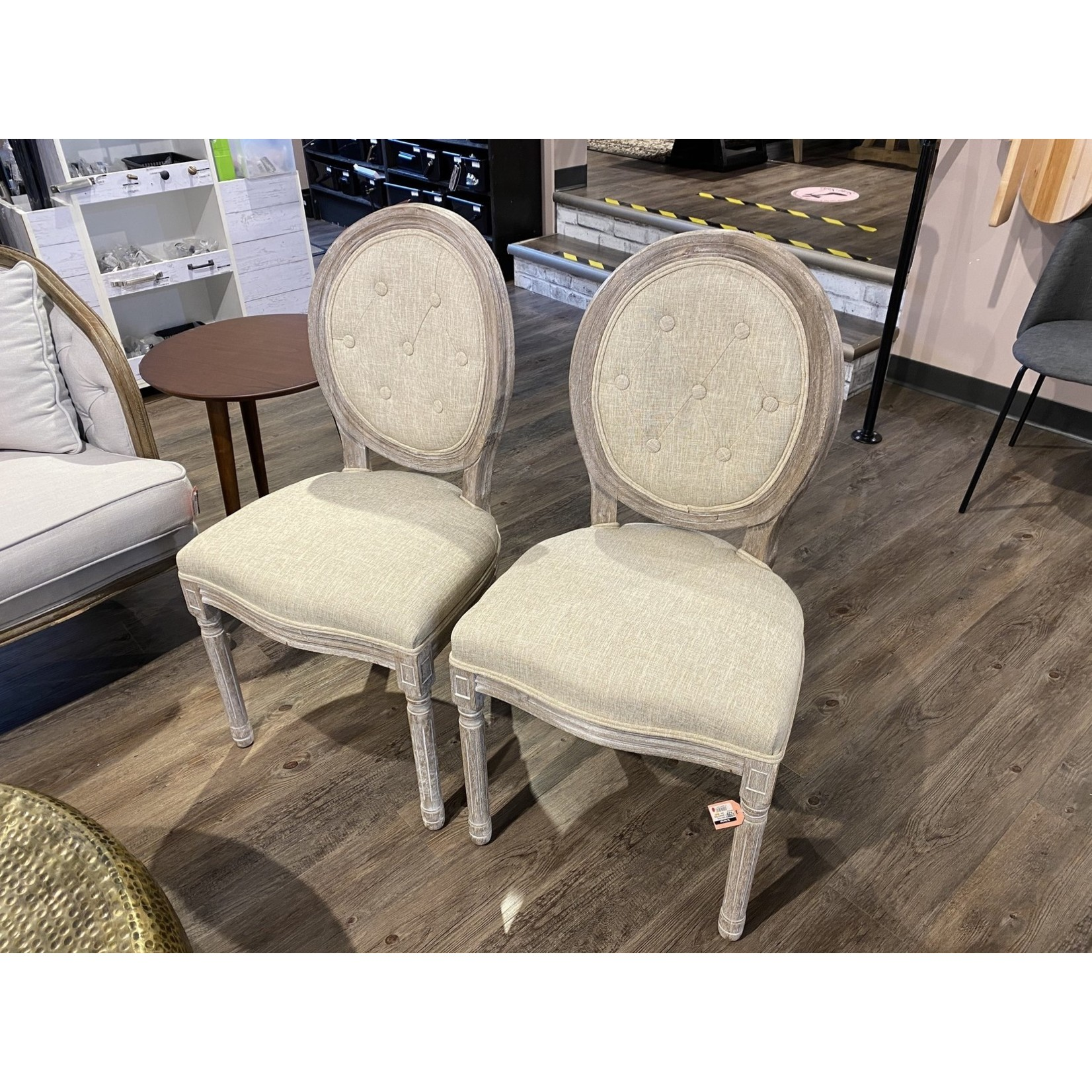 Vibbert French Upholstered Dining Chair - Set of 2