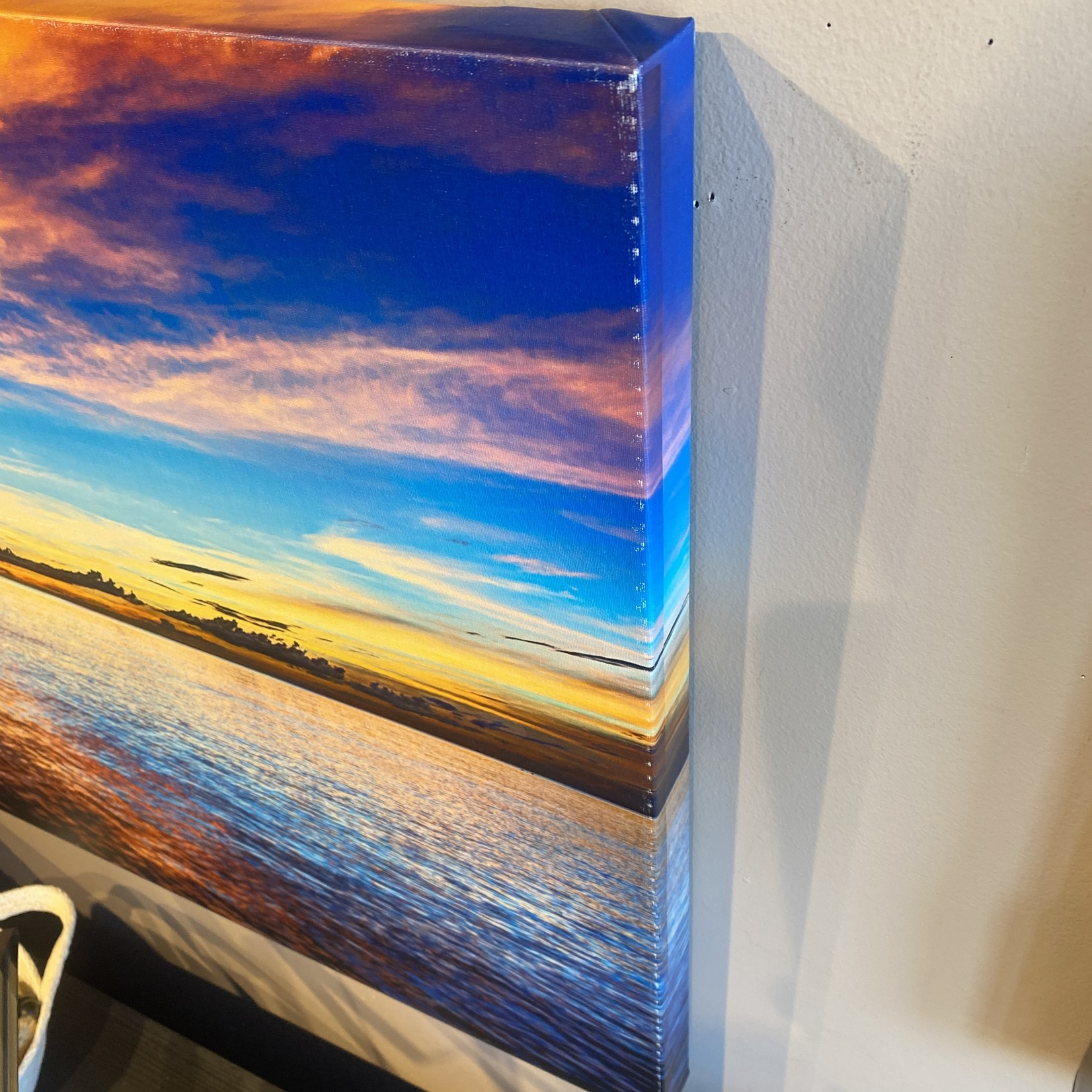*Carribean Sunset' Photographic Print 22 x 32 - Marked Edges