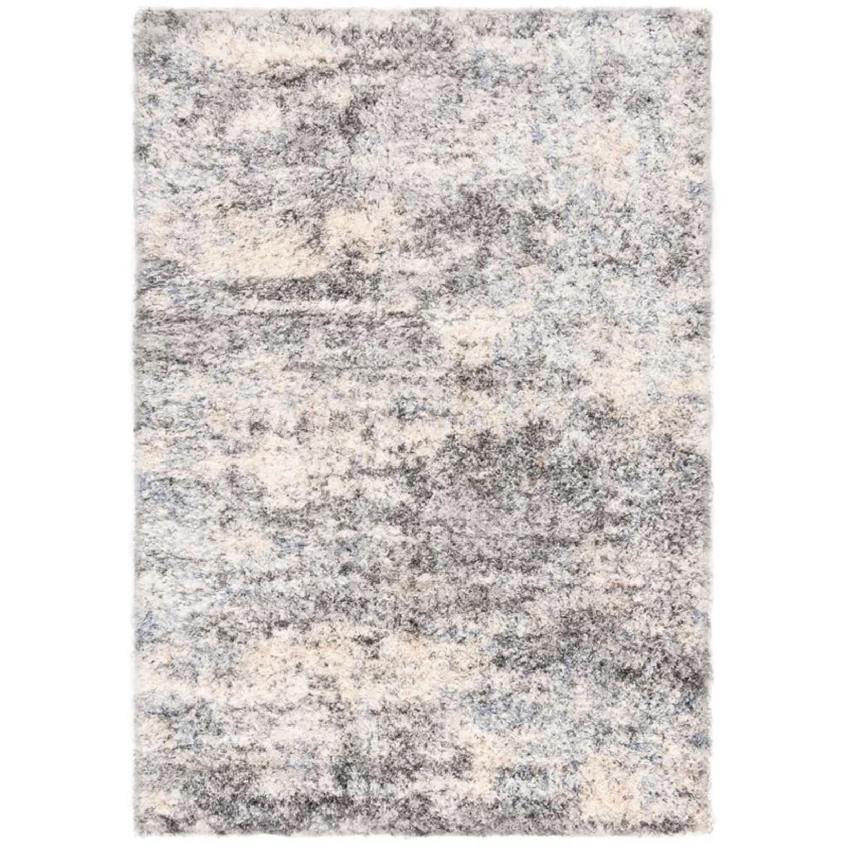 *10' x 14' Rabia Gray/Cream Area Rug