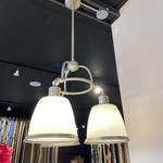 Feiss 3 Light Chandelier - Glass Shades (FINAL SALE)