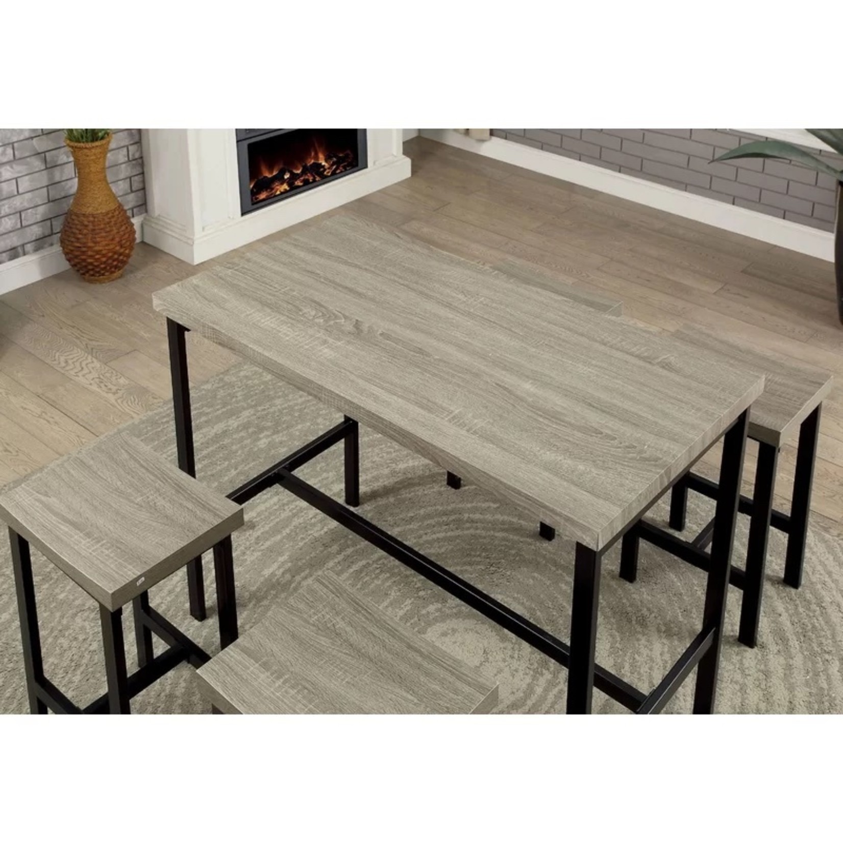 *Beveridge 5 Piece Dining Set