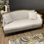 Sofa Oak Trim with Cushions (Grey)