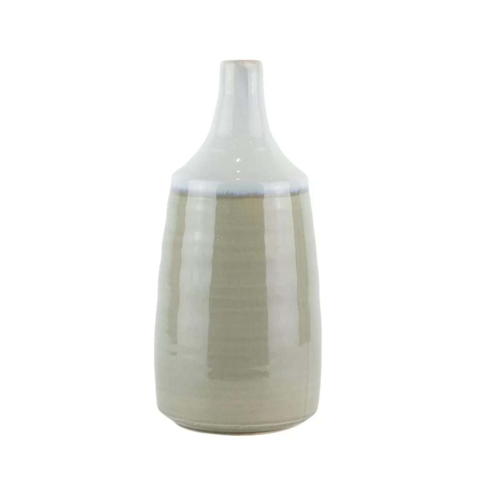 *Rains Ceramic Drip Glaze Table Vase