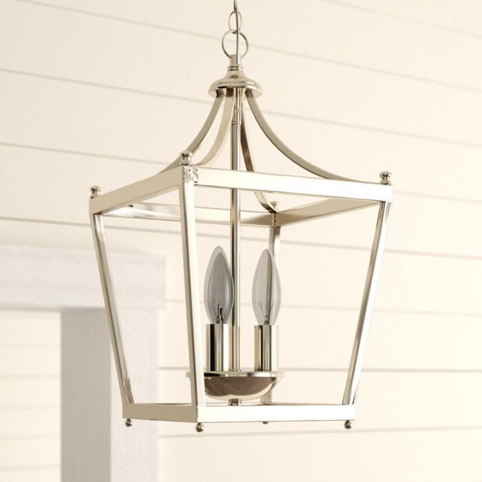 *Gabriella 3 - Light Lantern Geometric Pendant